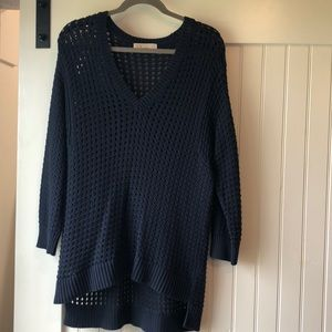 Navy Micheal Kors sweater XL